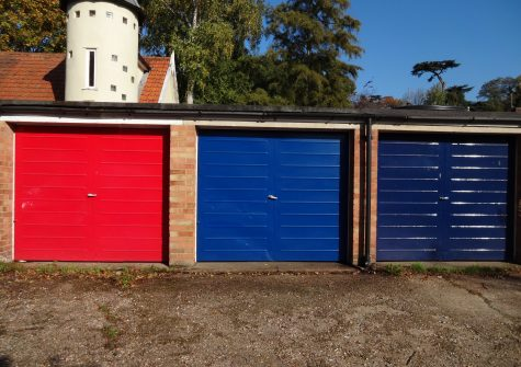 A single garage For Sale.