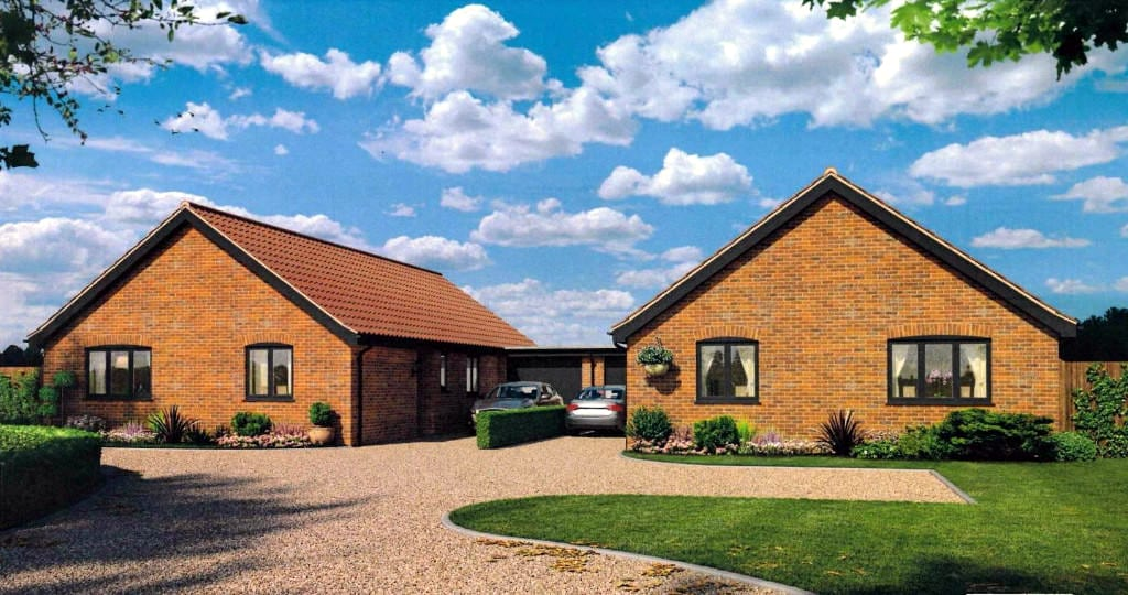 3 bedroom detached bungalow – plot 2