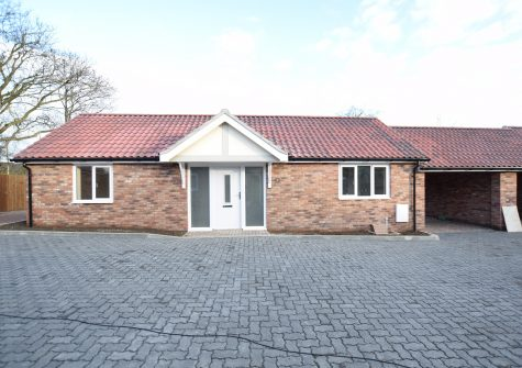 2 bedroom bungalow  with car port.